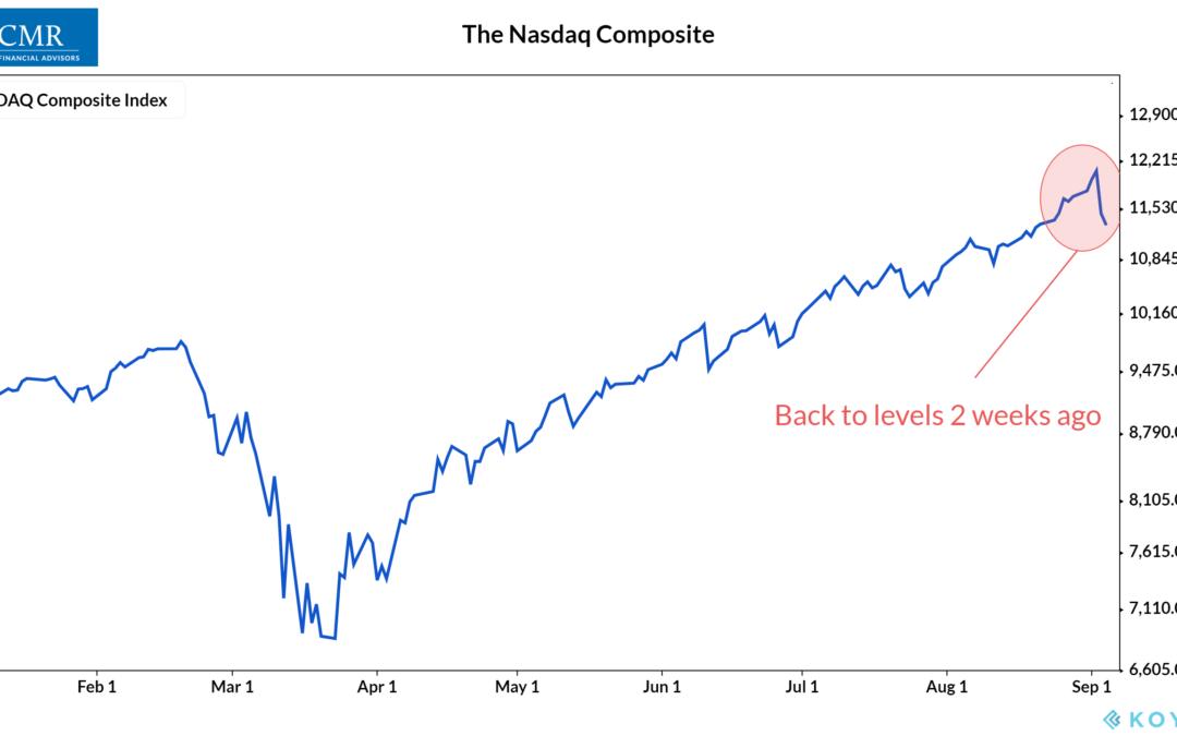 Stocks Go Down, Too
